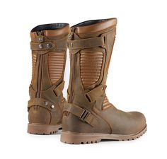 New brown motorcycle boots outfit shoes 39 Ideas Brown Motorcycle Boots, Motorcycle Boots Outfit, Motorcycle Gear, Motorcycle Style, Biker Boots, Combat Boots, Men's Shoes, Shoe Boots, Shoes Sport
