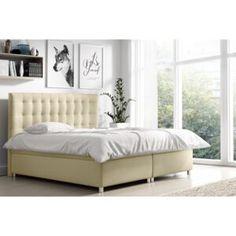 Paturi | FAVI.ro Bedroom Bed, Furniture, Komfort, Home Decor, Creme, Beds, Nail, Orange, Design