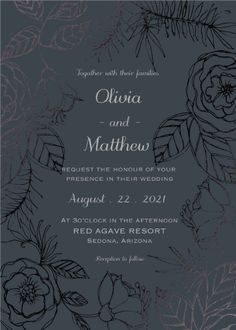 Rose garden by Nikita Jariwala Invite, How To Draw Hands, Wedding Invitations, Mint, Rose, Floral, Garden, Design, Masquerade Wedding Invitations