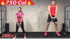 45 Min HIIT Kettlebell Workouts for Fat Loss & Strength - Kettlebell Wor...