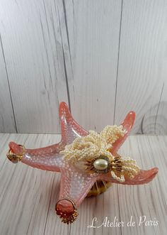 Starfish Ring Holder Ocean Inspired Jewelry Holder Nautical Ring