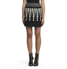 Belinda Patterned Skirt - Kenneth Cole
