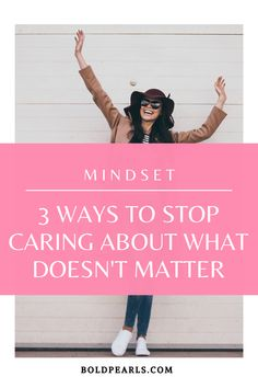 What really matters? Watch this to stop caring about what doesn't matter! #selfdevelopment #thingsthatmatter #encouragement