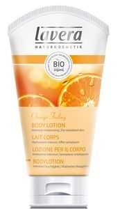 Lait Corps - Orange Feeling de Lavera : Fiche complète, boutiques en ligne et 3 avis consommateurs pour bien choisir vos produits Laits corporels