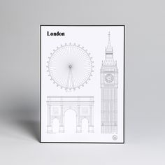 STUDIO ESINAM - LONDON LANDMARKS | SIMPLE FORM.