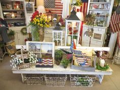 Wonderful Americana Gifts & Home Decor available at The Red Brick Cottage  Radcliff, KY .  www.theredbrickcottage.com