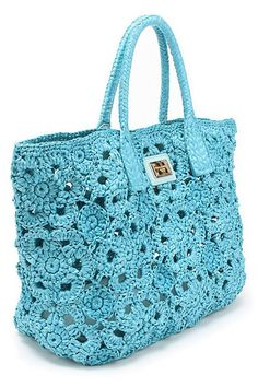 Crochet bags, Step by step and Crochet on Pinterest