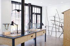 Ostentatoire, jewelery shop, Paris. Designed by Linda Bergroth