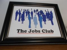 Another angel of my Jobs Club photo in a fancy frame.  I'm hoping it'll bring me better each month, each year.