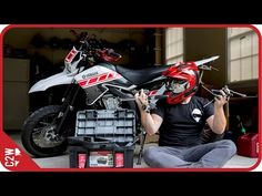 Doing your own work on your motorcycle! - YouTube