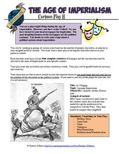 Age of Imperialism Cartoon Act-it-Out Project