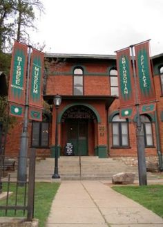 Bisbee Mining & Historical Museum was the first museum in the southwest to be designated a Smithsonian Affiliate.