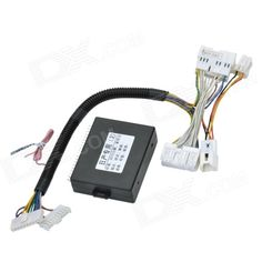8~15V Car 4-Window Automatic Up / Down / Open / Close Controller for NISSAN - Black