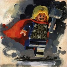 Thor from James Paterson available now from Evergreen Art Cafe