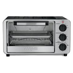Waring WTO450 Professional Toaster Oven Brushed Stainless Steel *** Continue to the product at the image link.