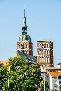 Rügen – durch Stralsund