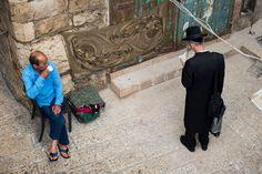 Neighbors Old City, Jerusalem by Katie Archibald-Woodward