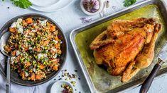Kremet kyllingsalat | Oppskrift - MatPrat Chicken, Meat, Food, Essen, Meals, Yemek, Eten, Cubs