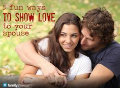 5 fun ways to show love to your spouse