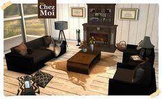 CHEZ MOI FURNITURES * Norway #secondlife #sl #mesh #animation #decor #design #livingroom