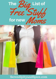 Free Stuff for new moms....this list has everything from coupons to books to DIAPERS to baby carriers and more!