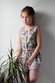 The seed pattern from Sewpony is perfect for summer Be Perfect, Ruffles, Jumpsuit, Sewing, Casual, Summer, Pattern, Dresses, Fashion