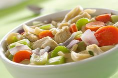 Hearty Chicken Soup | The Dr. Oz Show | Follow this Dr. Oz Recipe board Now and Make it later! -- Try this go-to comfort food recipe by Kris Jenner.