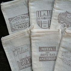 Vintage hotel logos