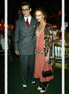 Vanessa Paradi & Johnny Depp