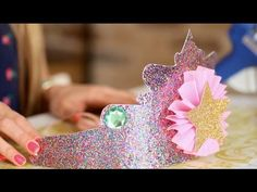 These DIY princess crowns are sure to make any little birthday girl smile!