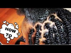 #467. BEST WAY TO GRIP SPRING TWIST - YouTube Black Girl Braided Hairstyles, Mohawk Hairstyles, Hairdos, Twist Box Braids, Twist Curls, Spring Twist Hair, Spring Twists, Parting Hair, Hair Topic