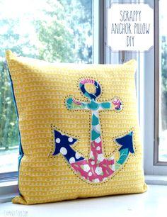 DIY Nautical Coastal Beach Pillow Ideas