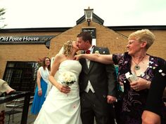 wedding confetti photo funny at Sporting Lodge Middlesbrough     cool and funny!!!!