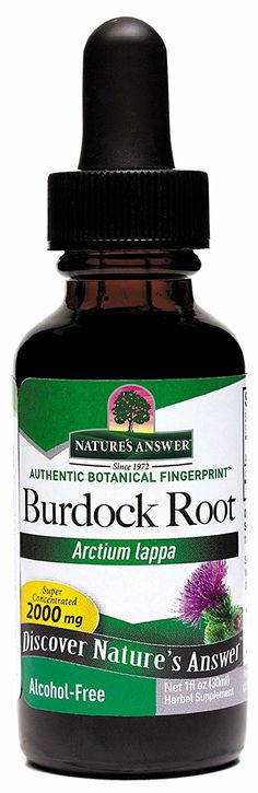 Nature's Answer Alcohol-Free Burdock Root, 1-Fluid Ounce ^^ Details can be found  : Herbal Supplements