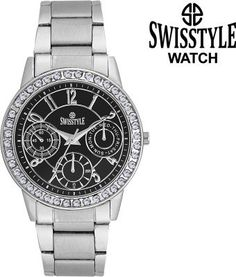 Swisstyle SS-LR0200-BLK-CH Analog watch for women