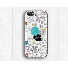 The Fault in Our Stars iPhone 5s Case,Our Stars iPhone 5 Case,Our... ($9.99) ❤ liked on Polyvore