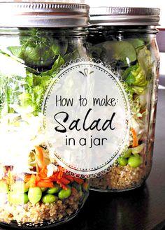 Making Salad-In-A-Jar