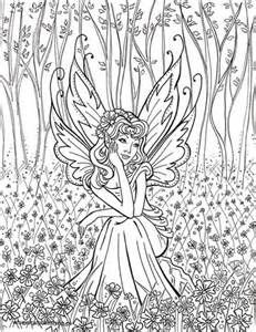free fairy coloring pages for adults bing images - Coloring Pages Dragons Fairies