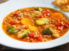 Cheeseburger Chowder, Thai Red Curry, Soup, Ethnic Recipes, Soup Appetizers, Soups, Chowder