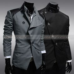 BEST Thelees Suit Mens Slim Fitted Casual Style Blazer Coat Jacket Collection
