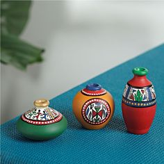 Handmade Pot Design - Warli