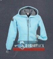 For Horses - moderne schicke Bekleidung für Western- und Freizeitreiter  - Thermo Hooded Jacket  - Atmungsaktiv und gefüttert.   - Fleece innen  - 2 seitliche Einschubtaschen  - Strickbündchen   - Mit For Horses Logo