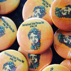 "Quickbadge on Twitter: ""Happy #DylanThomasDay #dylanthomas 25mm #printed  button #pin #badges @Quickbadge  #UKLateHour #womeninbiz https://t.co/V6RsJZkqD9"""