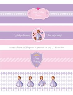Sofia the First party,  free printables  sofia_water_label.pdf - Google Drive