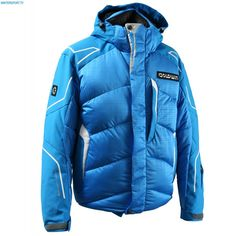 Goldwin Men Racing Jacket G13001E 09 Fine Blue