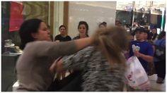 Twitter: impactante pelea entre cliente y empleada en centro comercial