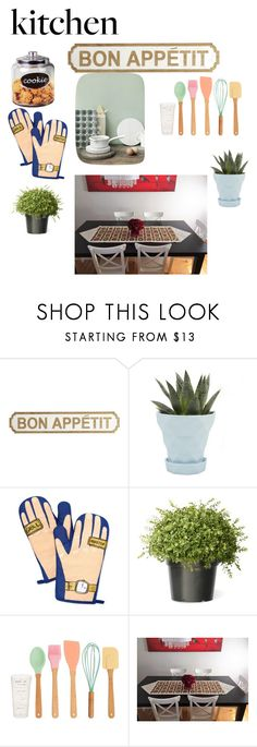 """""""kitchen"""" by theminimalist01 ❤ liked on Polyvore featuring interior, interiors, interior design, home, home decor, interior decorating, Pier 1 Imports, Chive, Celebrate Shop and Muuto"""