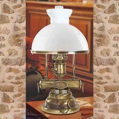 Lampe  poser décorative Rom abat jour textile