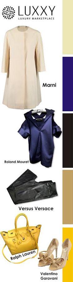 Плащ Marni https://luxxy.com/ru/product/plasi-trenckoty-marni-5933e8916ab3a/   Топ Roland Mouret https://luxxy.com/ru/product/topy-roland-mouret-593358d633b7f/  Мужские брюки Versus Versace https://luxxy.com/ru/product/bruki-versus-versace-593434f033671/  Сумка Ralph Lauren https://luxxy.com/ru/product/delovye-sumki-ralph-lauren-59314165d51cb/  Босоножки Valentino Garavani https://luxxy.com/ru/product/bosonozki-valentino-garavani-5929c6331bf7e/