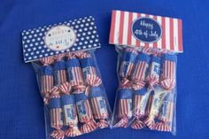 Tons of favor ideas - sparkler and bubble wrappers for party favors